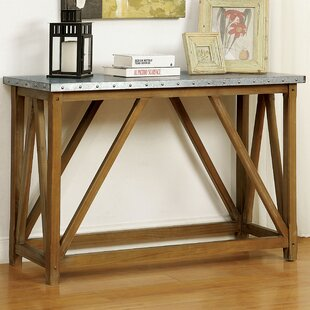 Aleah Console Table by Gracie Oaks