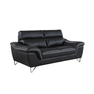 Hawks Luxury Upholstered Living Room Loveseat by Orren Ellis Best