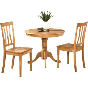 Woodward Traditional 3 Piece Bistro Set by Three Posts