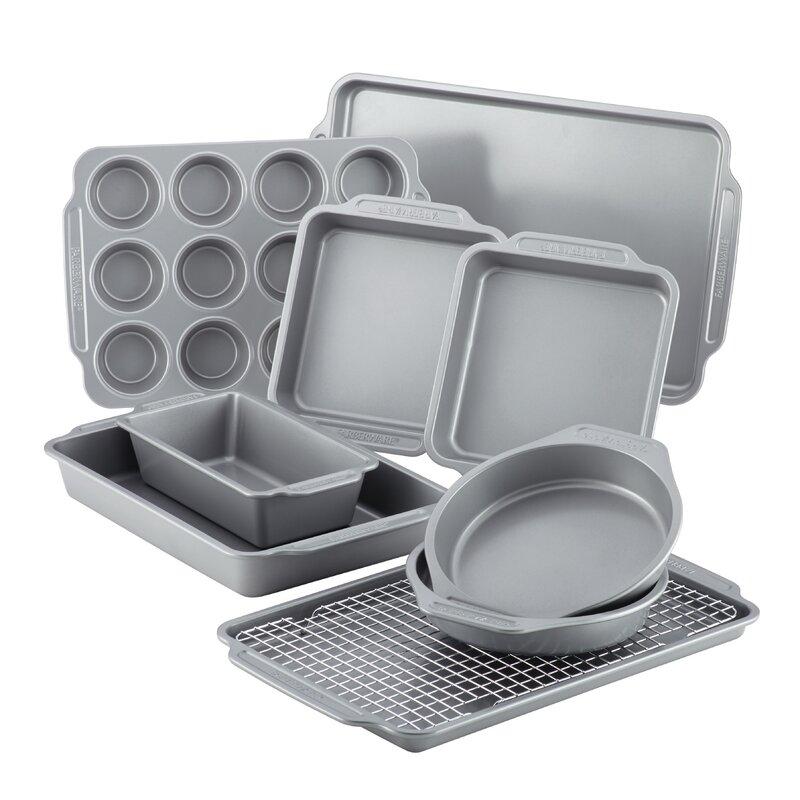 10 Piece Non-Stick Bakeware Set