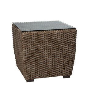 Augusta Woven Square Side Table