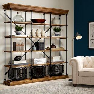 Poynor Etagere Bookcase Greyleigh