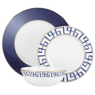 Darius 3 Piece Place Setting, Service for 1