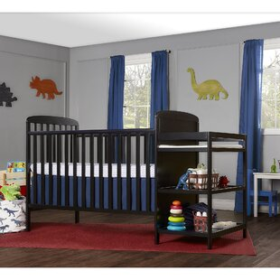 Peckham Full Size 4-in-1 Convertible 2 Piece Crib Set