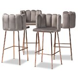 Camillei 30.7'' Bar Stool (Set of 4) by Everly Quinn