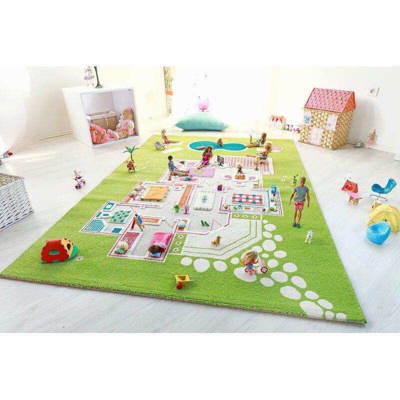 Daughter Play Mat Set 16 Piece Cute Animals Toddler Girls Floor Play Mat Set NEW