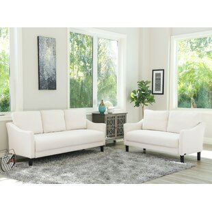 Online Reviews Buckwalter 2 Piece Living Room Set by Charlton Home Reviews (2019) & Buyer's Guide