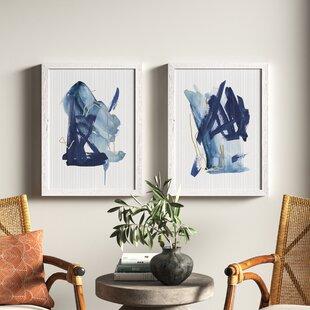 Indigo Blue Wall Art Joss Main