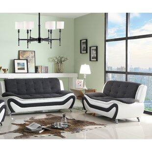 Compare & Buy Obermeyer 2 Piece Living Room Set by Orren Ellis Reviews (2019) & Buyer's Guide