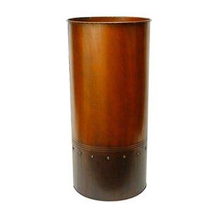 Distressed Vases Youll Love Wayfair - Cylinder floor vase silver