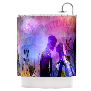 Couple In Love Single Shower Curtain