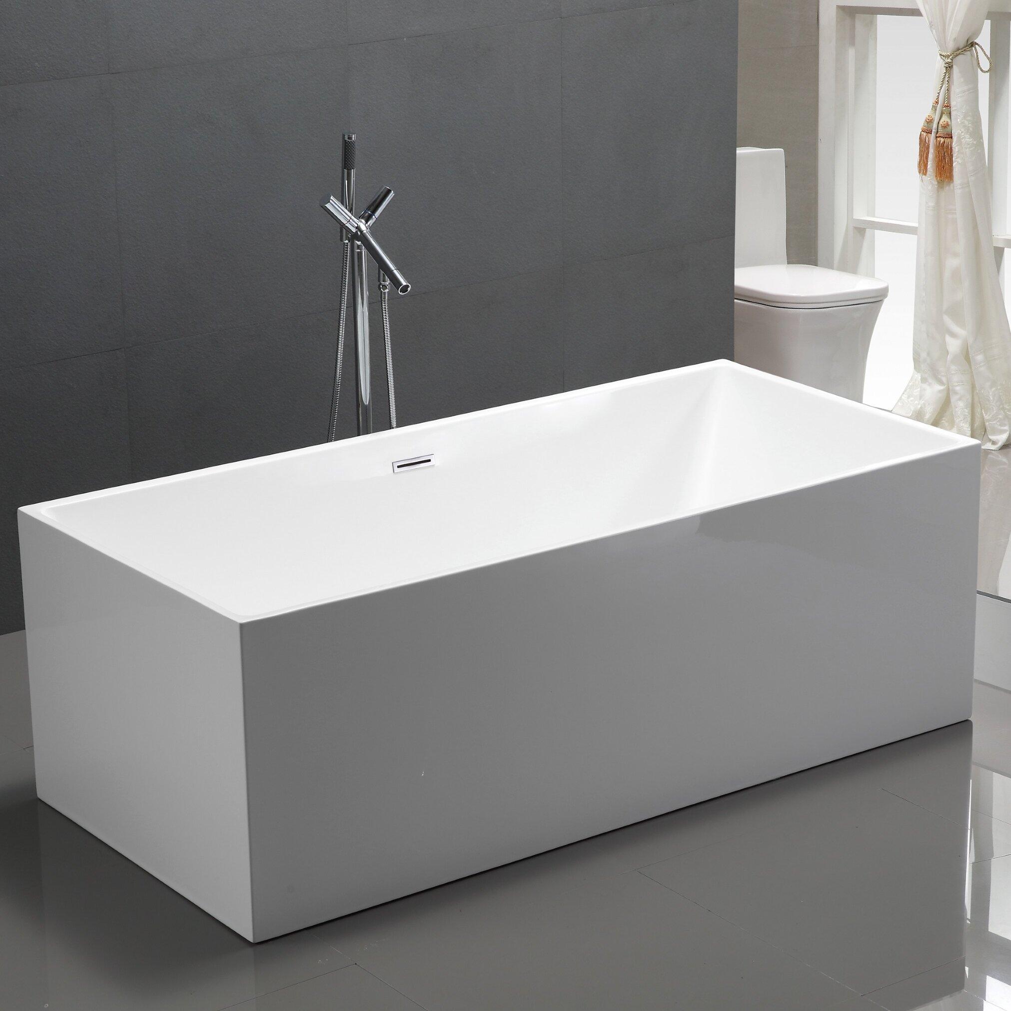 x idea bathtub w bathtubs aquatica wyndham freestanding h acrylic