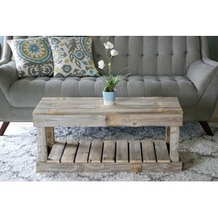 Check Prices Merriman Slatted Bottom Coffee Table ByGracie Oaks