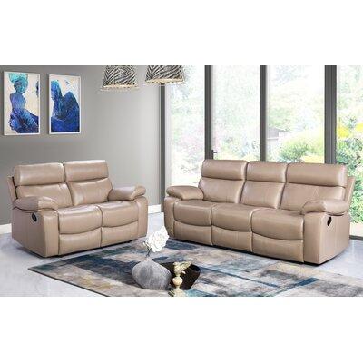 Fine Mellor 2 Piece Leather Living Room Set Red Barrel Studio Frankydiablos Diy Chair Ideas Frankydiabloscom