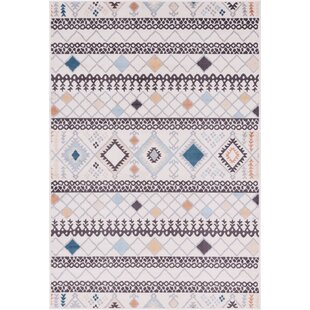 Mancilla Ivory Indoor/Outdoor Area Rug
