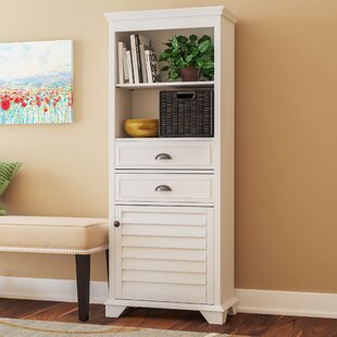 Crenshaw 2 Drawer Tall Accent Cabinet Three Posts