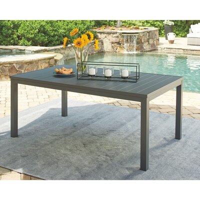 Aluminum Dining Table by Latitude Run Sale