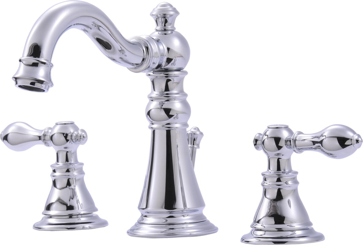 Ultra Faucets Widespread Bathroom Faucet with & Reviews | Wayfair