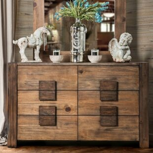 Bushman 6 Drawer Double Dresser