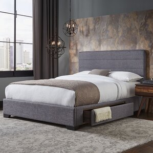 Cerrone Upholstered Storage Panel Bed by Latitude Run