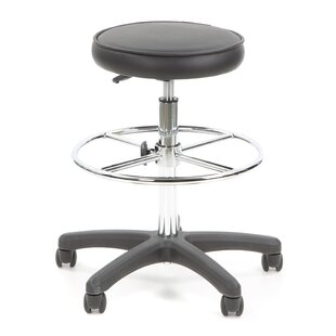 Height Adjustable Drafting Stool With Footring by Flash Furniture Discount