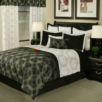Astoria Grand Terese 8 Piece Comforter Set Reviews Wayfair