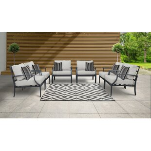 Benner Patio Chair with Cushions (Set of 6)