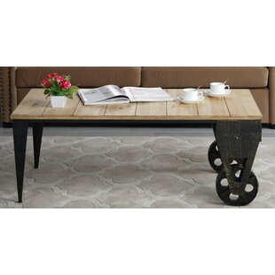 Brassfield Classic Plank Coffee Table by Williston Forge Bargain