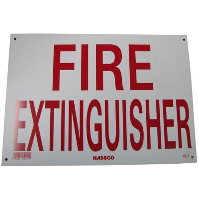 Fire Extinguisher Sign NeoPlex