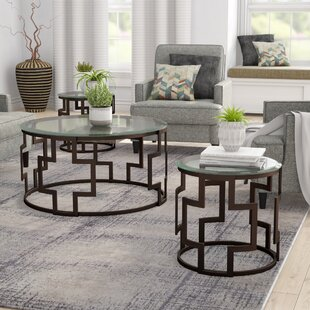 Bolte 3 Piece Coffee Table Set