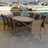 Bari 9 Piece Dining Set