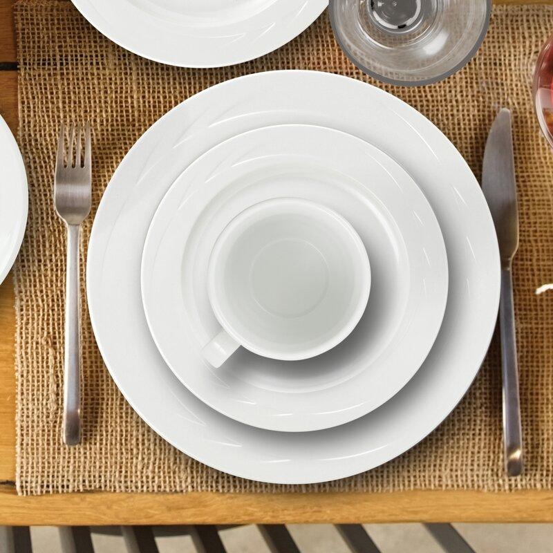 Henrich 16 Piece Melamine Dinnerware Set & Henrich 16 Piece Melamine Dinnerware Set \u0026 Reviews | Birch Lane