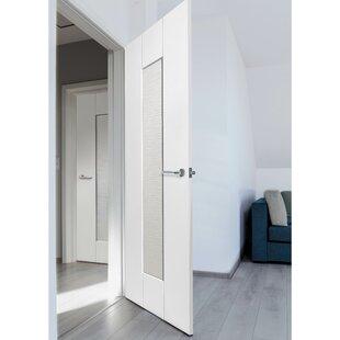 Axis Ripple Semi Solid MDF Panelled Slab Internal Door by JB Kind Doors