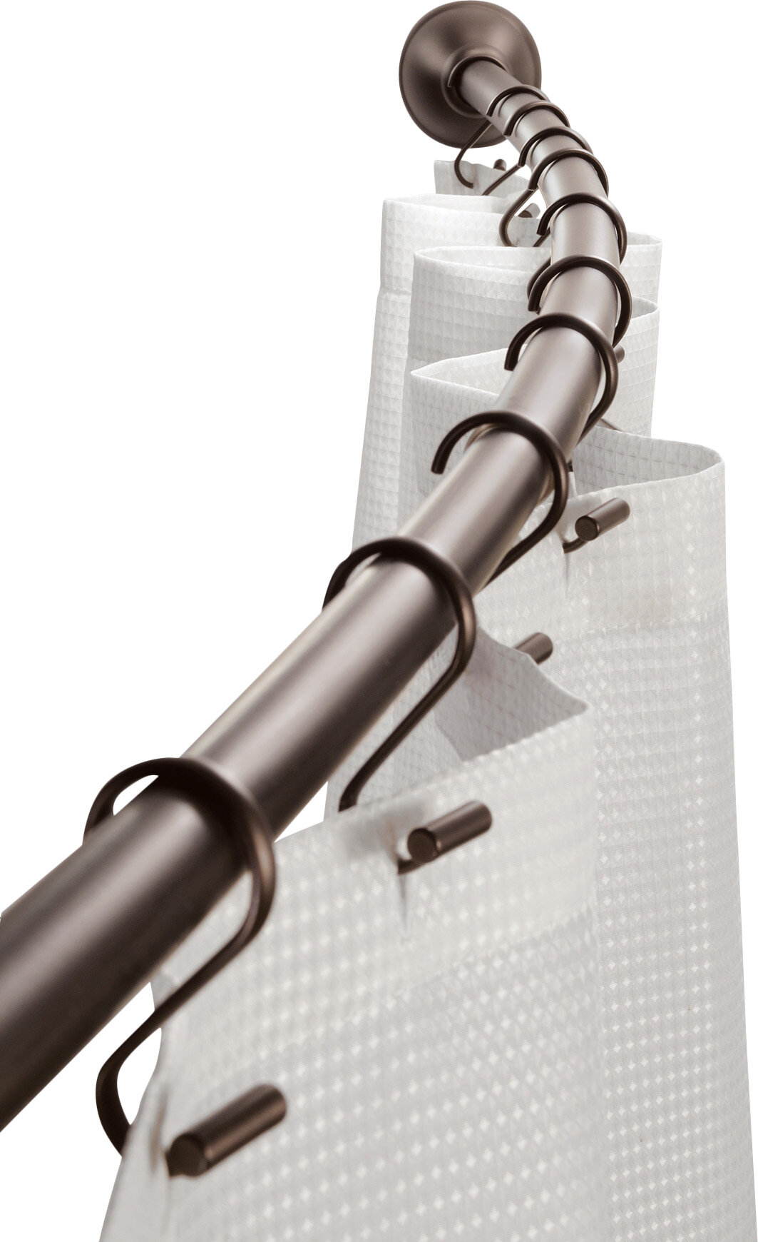 Interdesign 41 Curved Shower Curtain Rod Reviews Wayfair Ca