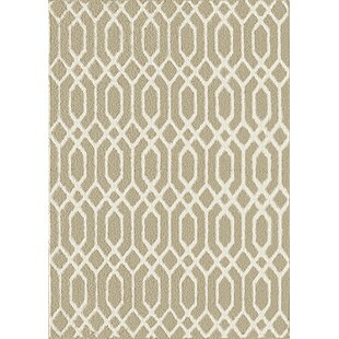 Price Check Dorothy Beige/White Area Rug By Zipcode Design