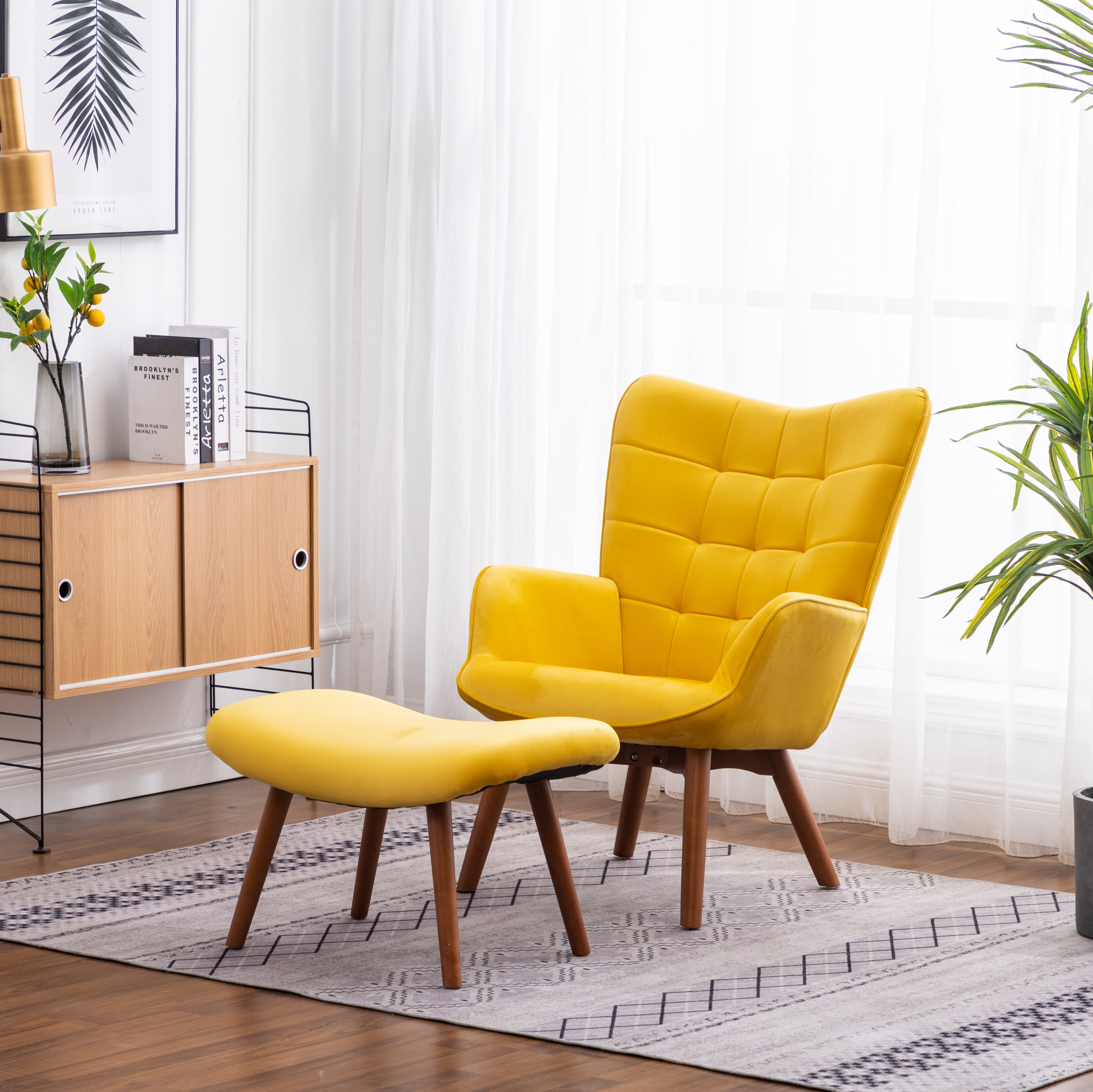 Picture of: Velvet Yellow Accent Chairs You Ll Love In 2020 Wayfair