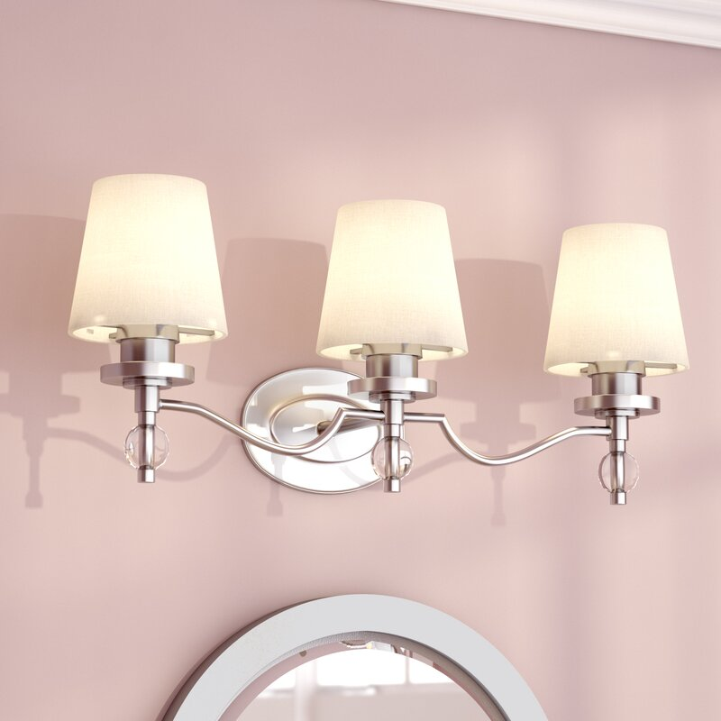 Willa Arlo Interiors Sely 3-Light Vanity Light & Reviews | Wayfair