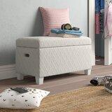 Abner Upholstered Storage Bench by Grovelane