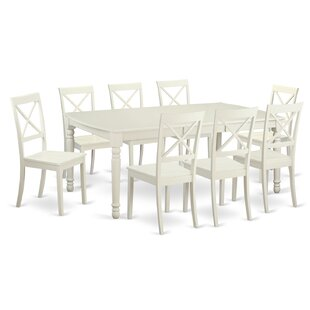 Pimentel 9 Piece Dining Set August Grove