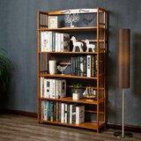 Aizza 61.3 H x 35.1 W Etagere Bookcase by Winston Porter