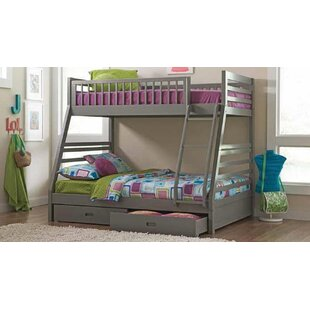 Inexpensive Welsh Twin Over Full Bunk Bed by Harriet Bee Reviews (2019) & Buyer's Guide