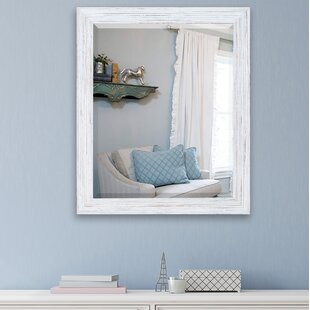 Great deal Cryal Wall Mirror By Ophelia & Co.