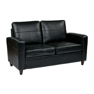 Reviews Caswell Wilmot Leather Loveseat by Latitude Run Reviews (2019) & Buyer's Guide