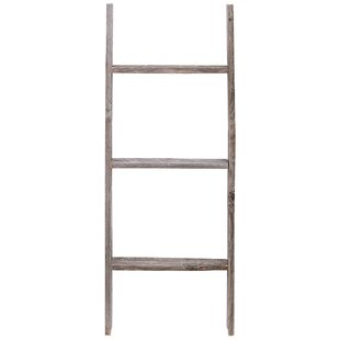 Coupon Rustic Wood 3 ft Blanket Ladder By Rustic Decor