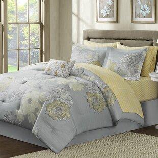 Effie Complete Comforter and Cotton Sheet Set