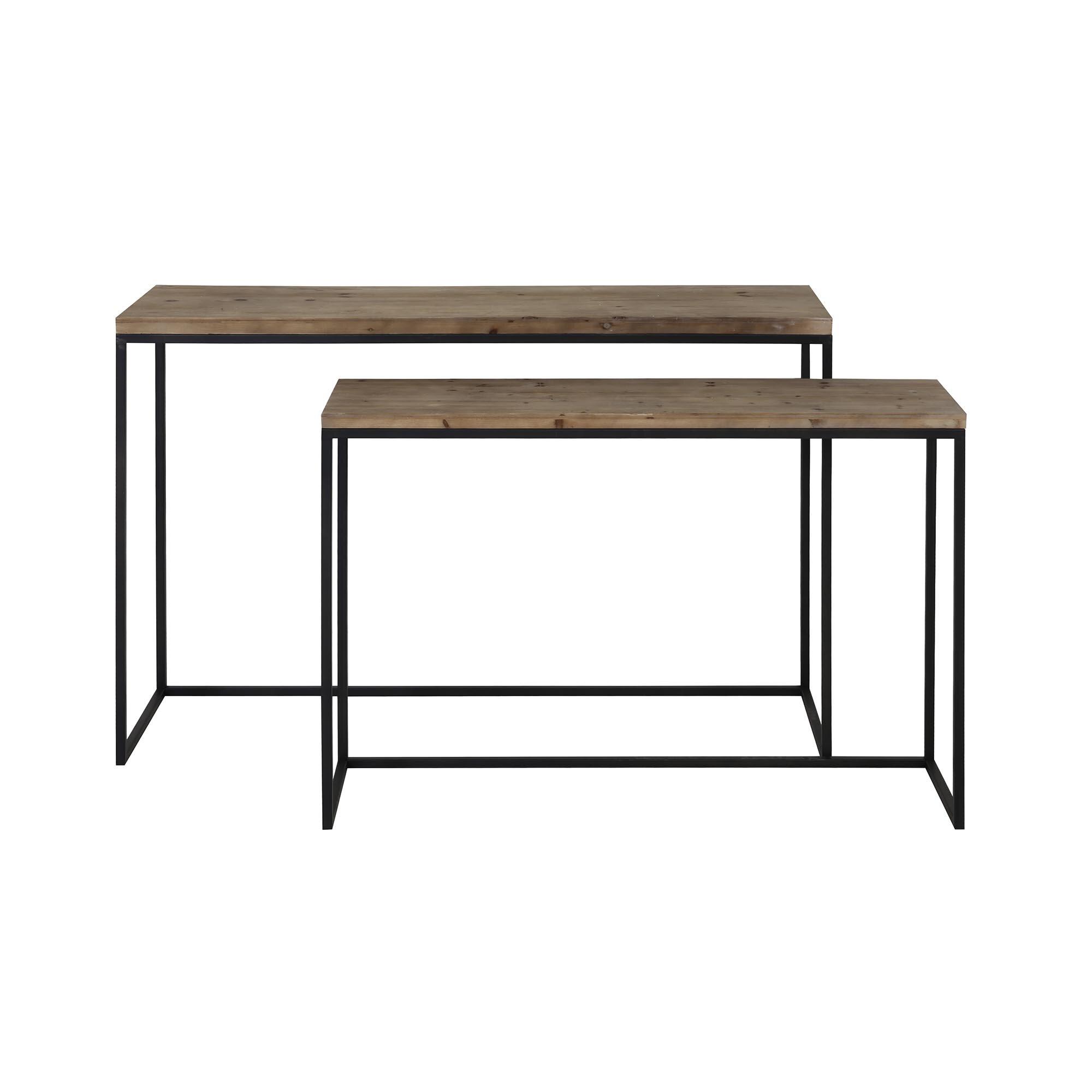 Williston Forge Conover 2 Piece Console Table Set Wayfair Co Uk