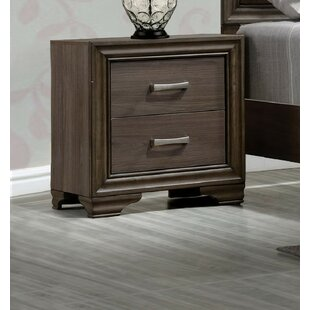 Layla 2 Drawer Nightstand