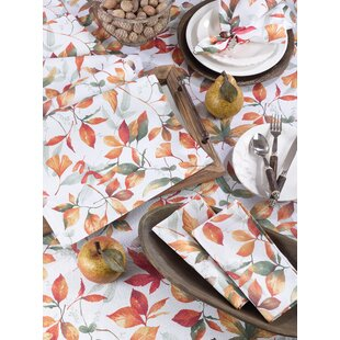 Lilburn Fall Leaf Tablecloth