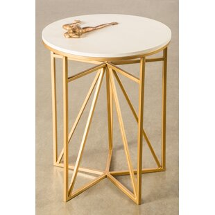 Athena End Table by Statements by J