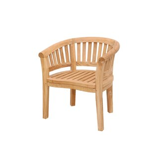 Curve Teak Arm Adirondack Chair